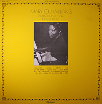 Mary Lou Williams - First Lady Of Piano, New York 1955